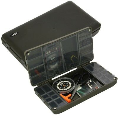 Ngt Xpr Carp Fishing Tackle Box System For Terminal Tackle Shots Hooks Etc Empty