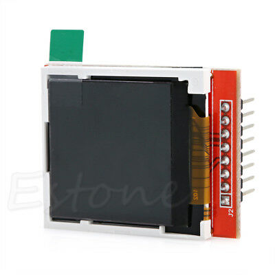 """1pc New 1.44"""" Red Serial Display LCD Module 128*128 TFT Color Screen PCB Adapter"""