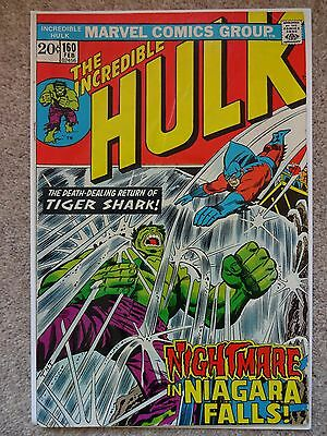 THE INCREDIBLE HULK No. 160 February 1973