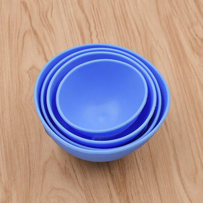 Dental Mixing Bowl Alginate Impression Silicone Nonstick Flexible Rubber Tool