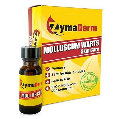 ZymaDerm for Molluscum Contagiosum, New, Free Shipping .