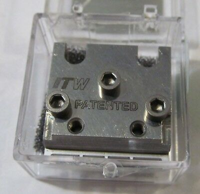 New Itw Dynatec  Industrial Ufd Line Hot Melt Glue Spray Nozzle 114961