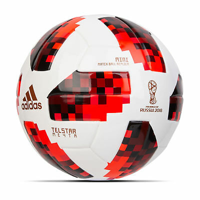 Official adidas World Cup 2018 Knockouts Mini Football White