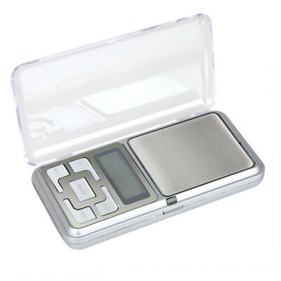 500g x 0.1g Digital LCD Scale Jewelry Gold Herb Balance Weight Gram AAA Powered