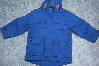 boys 3 items lot NEXT parka coat jacket padded vest and sweater age 2 years