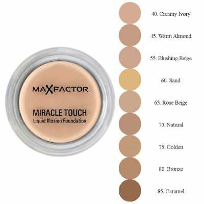 Fundación Max Factor Miracle Touch Liquid Illusion