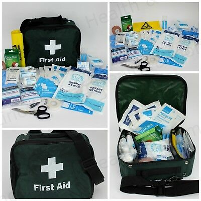 Multi Sport First Aid Kit Grab Bag for Common Sporting Injuries / Team Supplies