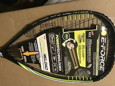 E-Force Lethal Reload 160 Racquetball Racquet Totally Brand New With Warranty