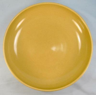Casual Avocado Yellow Round Vegetable Bowl Iroquois Russel Wright Chartreuse O2