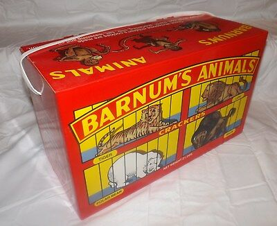 Lg. Nabisco Barnum's Animal Crackers 1998 Edt of the 1902 Barnumn's Animals Box