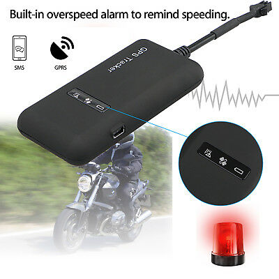 Mini Realtime GPS GPRS GSM Car/Vehicle/Motorcycle Tracker Spy Tracking Device