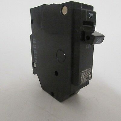 GE THQL1120 BREAKER 1/pkg 120V 20A 1P GENERAL ELECTRIC