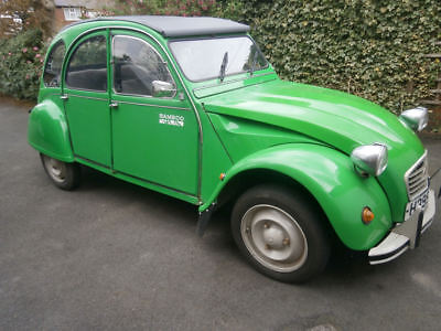 Citroen 2CV6 Bamboo  1990  Drives V well  Mot, no advisories  Galvanised chassis