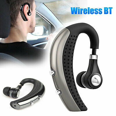 Noise Cancelling Bluetooth Wireless Headset Earphone with Mic for Truck Driver