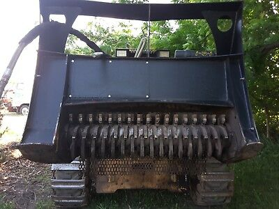 Forestry Mulcher header/attachment for low flow Skid Steer - NO RESERVE