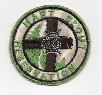 Hart Scout Reservation (Cradle of Liberty Council) Patch, Mint!