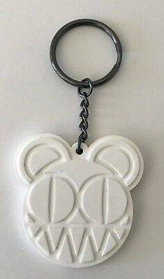 Radiohead keychain 2018 tour modified bear white new