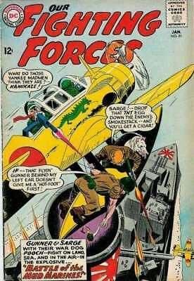Our Fighting Forces #81 in Very Good condition. DC comics