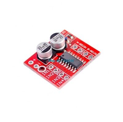 Pack of 2 - Arduino compatible DC Motor Driver 1.5A 10v Dual H-Bridge Module