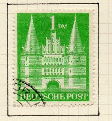 Germany Allied Occ British Zone 1948-50 Issue Fine Used 1DM. 258819