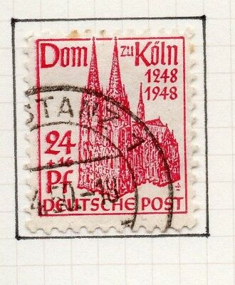 Germany Allied Occ British Zone 1948-49 Cathedral Issue Fine Used 24pf. 258826
