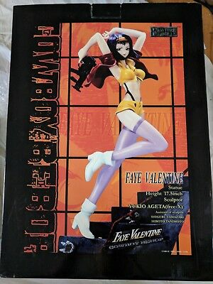 Cowboy Bebop Faye Valentine 1/4 Scale Resin Statue Figure Fewture Authentic