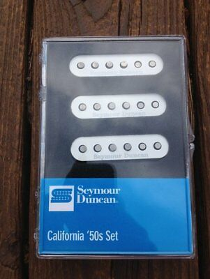 Seymour Duncan SSL-1 California 50's Single Coil Set Fender Stratocaster White