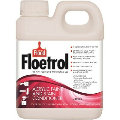 4 Litre Floetrol Acrylic Paint & Stain Conditioner