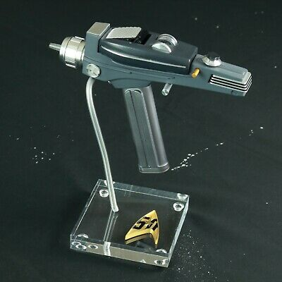 Star Trek TOS 50TH, Phaser Display Stand, Very High Quality