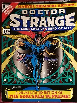 Marvel Treasury Edition 6 1975 Fvf 7.0 Cover By Brunner Sa Reprints