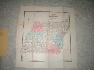 Map of Albany County, New York