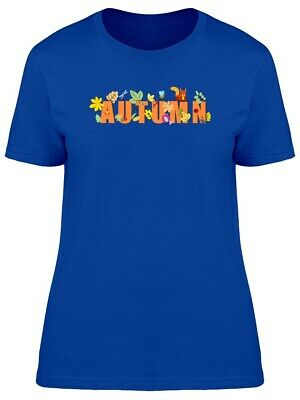 Autumn Word Decorated Women's Tee -Image by Shutterstock