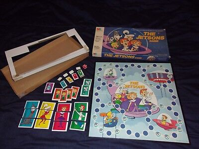 The Jetsons Board Game 1985 COMPLETE exc vintage cond Orbitty