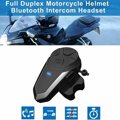 BT-S3 2.4GHz Helmet Intercom Headset Motorcycle Bluetooth Hands-free Headphone