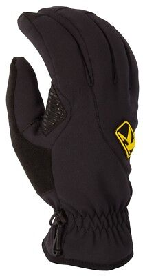 Klim Inversion Insulated Snowmobile Gloves (Pair) Black Adult All Sizes