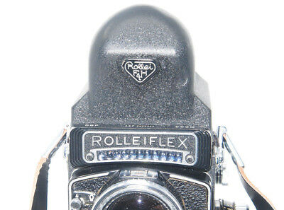 Rolleiflex Rollei TLR Eye-Level Prism Finder for Rollei TLR w. Removable Hood