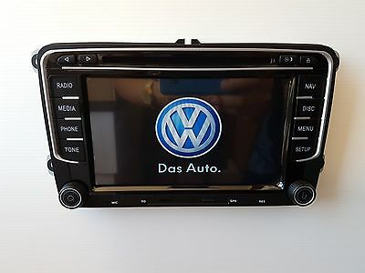 Car Radio Rns510 Vw Golf Passat Polo Sharan Tiguan Touran Eos Volkswagen Stéréo