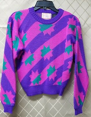 Eoelwiess Skiwear Girls XL Vintages 80's Sweater