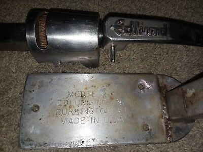 Edlund S-11 All Stainless Manual Table Style Can Opener  USED NSF Edlund S11 Can