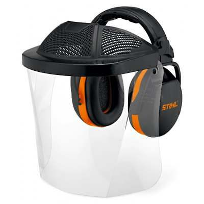 STIHL Face/Ear Protection with Polycarbonate Visor and Ear Defenders