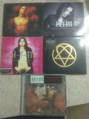 HIM 5CD Lovesongs/Razorblade Romance/Deep Shadows/Love Metal/Venus (ORG DIGI LE)