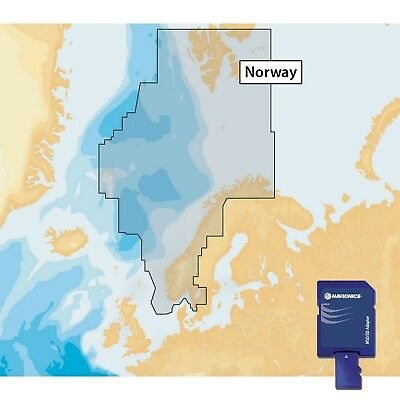 Navionics Plus 49XG Global Region Norwegian Format SD avec adaptateur SD