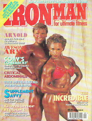 Ironman, Bodybuilding magazine, September 1993,Fitness magazines