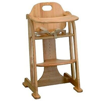 East Coast Multi-Height Highchair (Natural All Wood)