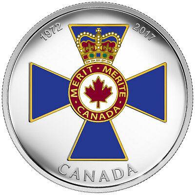1 Oz Silber Proof Canadian Honours : Order of Military Merit 20 CAD Kanada 2017