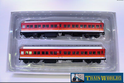 Austrains NSWGR Candy FS Passenger Cars Twin Pack FS002