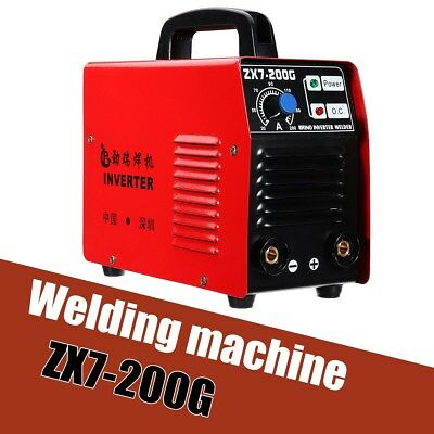 200AMP Welding Inverter Machine Portable MMA/ARC Safety Welder ZX7-200G IGBT DC
