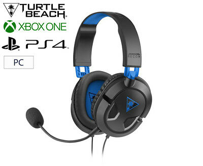 Turtle Beach Ear Force Recon Gaming Headset For PS4 & PC - Black