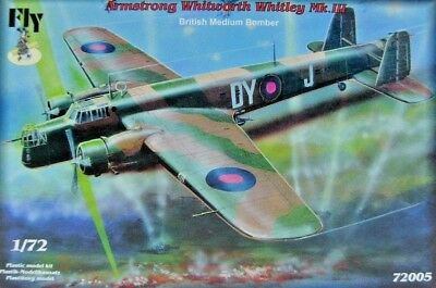 FLY Armstrong Whitworth Whitley MK.II British Medium Bomber 72005 Resin Etched