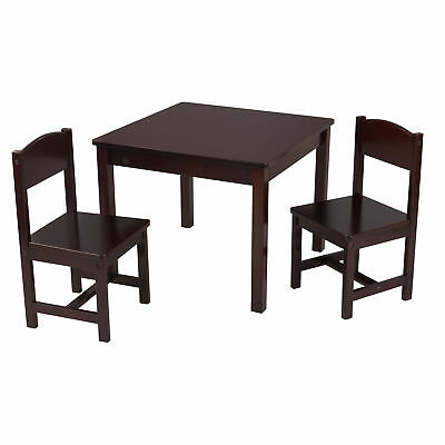 Incredible Kidkraft Aspen Child Furniture Homework Or Play Table And 2 Machost Co Dining Chair Design Ideas Machostcouk